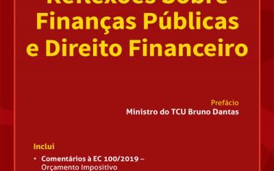 Desembargador Marcus Abraham lança livro sobre Finanças Públicas e Direito Financeiro
