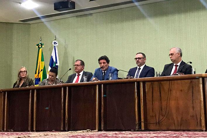 Corregedor nacional de Justiça participa de debate sobre agronegócio, meio ambiente e magistratura federal
