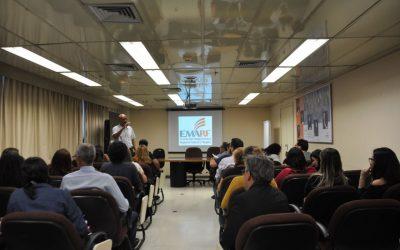 Estudantes de Direito da Universidade Estácio de Sá visitam o TRF2