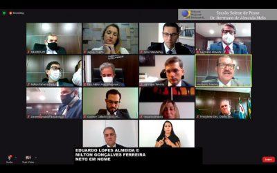 Ministro Humberto Martins participa da posse virtual de desembargadores no TRE-AL